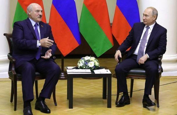 Путин иЛукашенко провели телефонные переговоры