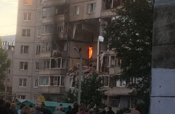Мощный взрыв прогремел вжилом доме вЯрославле
