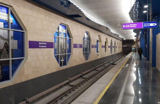 Протекающий вестибюль «Дунайской» отремонтируют до15сентября