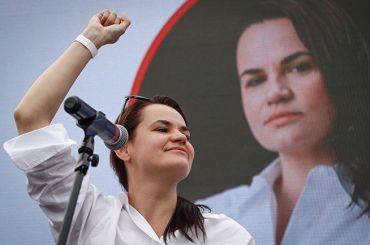 «Тихановская вбезопасности»: соперница Лукашенко бежала вЛитву