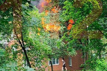 Взрыв прогремел вжилом доме назападе Москвы