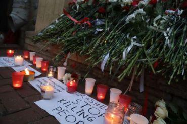 Убелорусского посольства вПетербурге требовали перемен