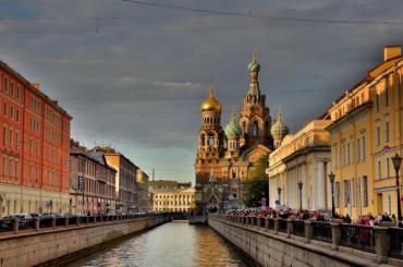 Петербург оказался вхолодной части циклона