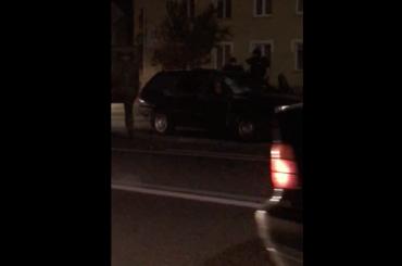 ВБелоруссии военный джип протаранил легковушку, спятилетней девочкой внутри