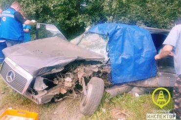 Водитель Mercedes погиб вДТП под Петергофом