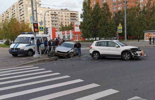 Велосипедист пострадал после столкновения сMitsubishi наПросвещения