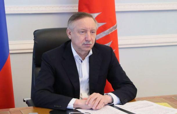 Беглов поздравил фанатское движение «Зенита» сюбилеем
