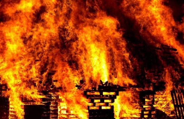 Под утро вВыборгском районе горело кафе