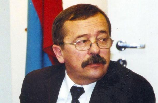 Умер бывший глава Центрального района Владимир Антонов