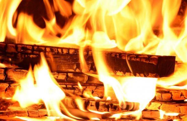 Заночь вЛенобласти сгорели три частных дома, баня илесопилка