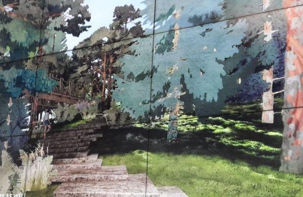 «Студия 44» Никиты Явейна победила вконкурсе наконцепцию парка «Тучков буян»