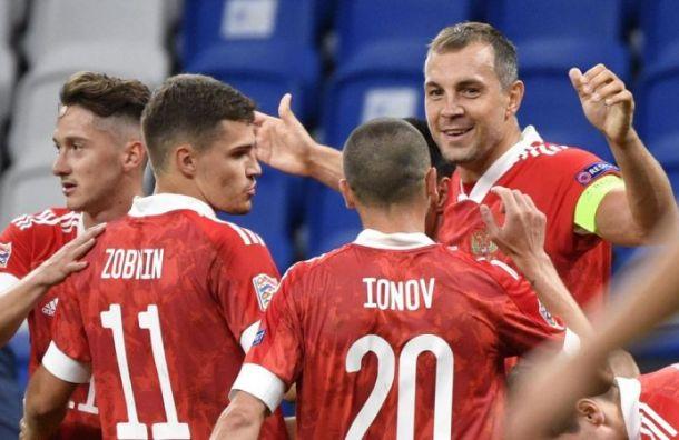 Дубль Дзюбы принес России победу над Сербией