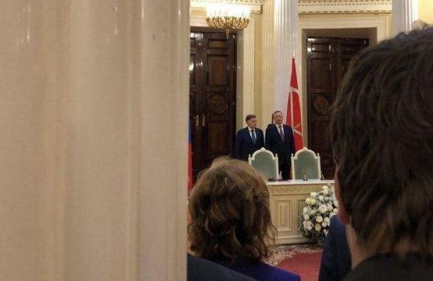 Беглов непоехал наинаугурацию президента Белоруссии Лукашенко