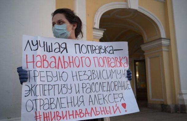 Суд неразрешил провести вПетербурге митинг вподдержку Навального
