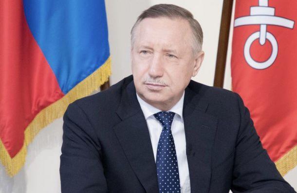 Беглов обсудил спрезидентом банка «ВТБ» планы строительства ВСД