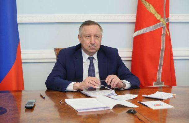 Беглов призвал предприятия замерять температуру уработников