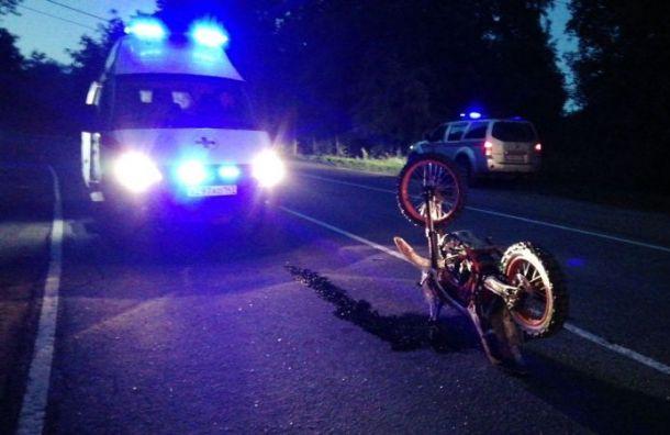 Мотоциклист попал ваварию воВсеволожском районе