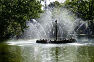 ВПетербурге восстановят пять городских фонтанов