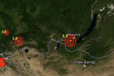 Землятресение магнитудой 5,9 случилось вИркутской области