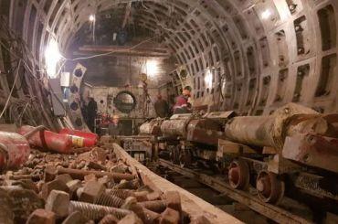 «Петровна» закончит проходку участка строящейся рыжей ветки метро