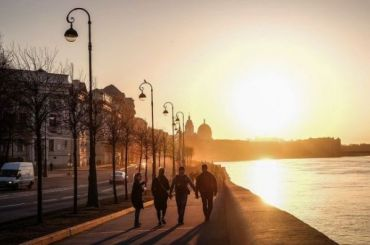 Петербургский воздух прогреется до24 градусов