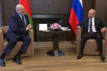 Путин пообещал Лукашенко 1,5 млрд долларов