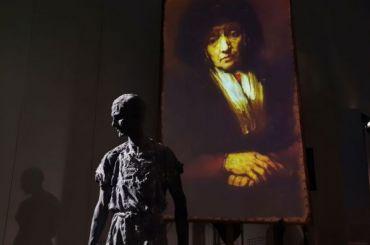 Александр Сокуров открыл вГлавном штабе «Посвящение Рембрандту»