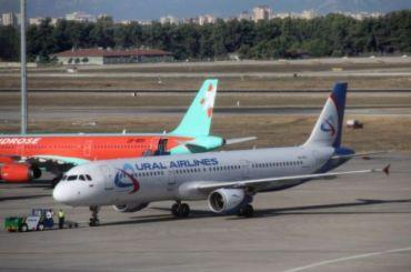 Вылет четырех рейсов «Уральских авиалиний» задержали вовторник вПетербурге