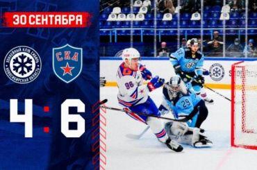 СКА всмешанном составе вырвал победу у«Сибири» вКХЛ