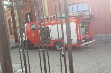 Музей РЖД наБалтийском вокзале эвакуировали