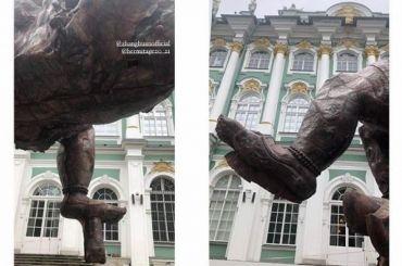 Коммунисты требуют убрать статую Будды уЭрмитажа