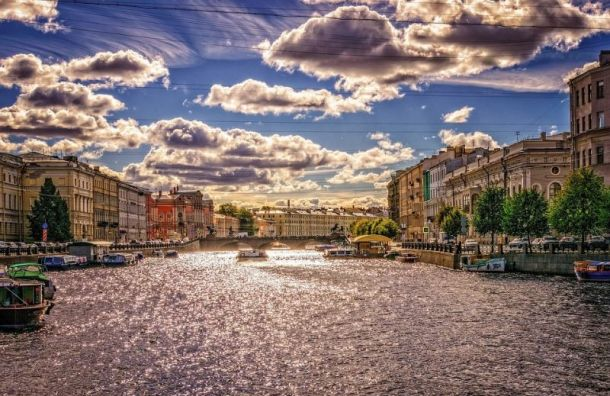 Западный антициклон унес изПетербурга дожди