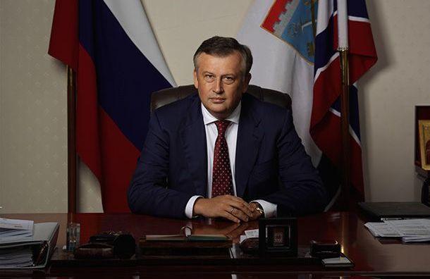 Дрозденко лидирует навыборах губернатора Ленобласти