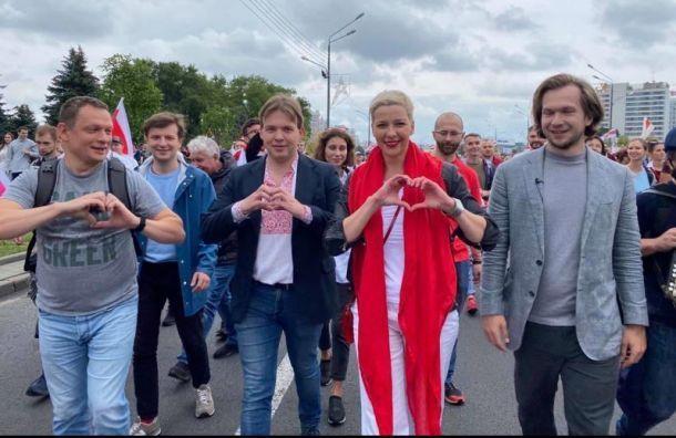 Колесникову заподозрили вБелоруссии впопытке захвата власти