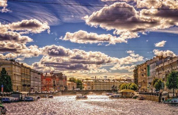 Петербург благодаря обширному циклону ждет теплая погода
