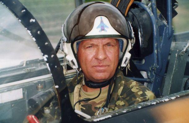 Известный летчик Александр Поддубный скончался вПетербурге
