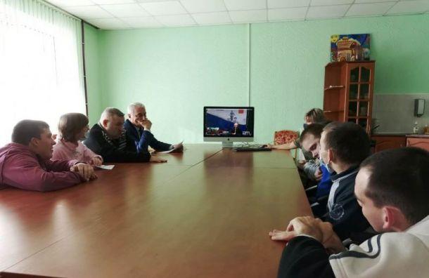 Жители психоневрологических интернатов спросили уРжаненкова