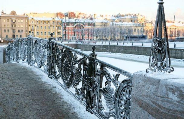 Зимние холода придут вПетербург вноябре