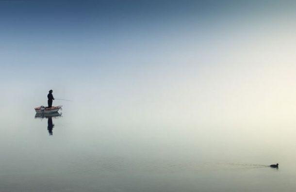 Лодка стремя рыбаками перевернулась наВуоксе