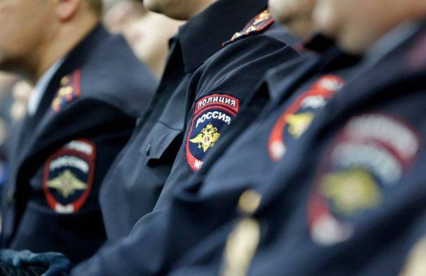 Мужчина напал иизбил двух полицейских вМоскве