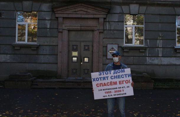 Арендаторы бизнес-центра ВНИИБ требуют запретить снос здание