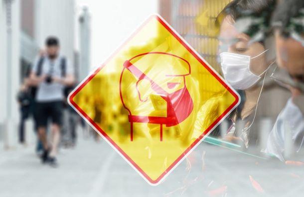 Сначала пандемии петербуржцам выписали штрафов на54 млн рублей