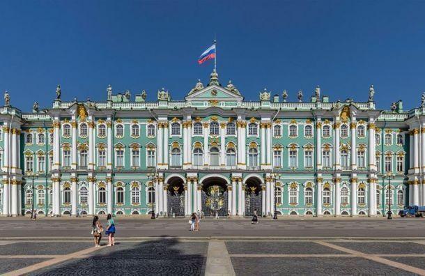 Посольство США вМоскве поможет вреставрации фресок вЭрмитаже