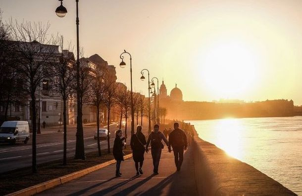 Температура воздуха вПетербурге снова превысит норму