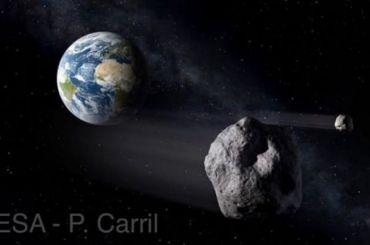 Астероид размером схолодильник может столкнуться сЗемлей 2ноября