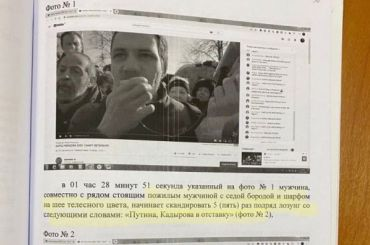 Активиста Чупрунова оштрафовали завыкрикивание лозунгов против Путина