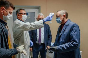 Беглов перешел наудаленную работу из-за контакта сзаболевшим COVID-19