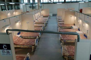 Седьмой павильон «Ленэкспо» снова стал ковидным госпиталем