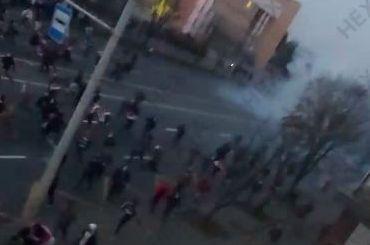 Милиция применила светошумовые гранаты при разгоне митинга вМинске