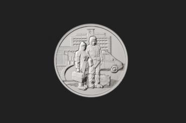 Банк России выпустил пять миллионов памятных монет вчесть медиков